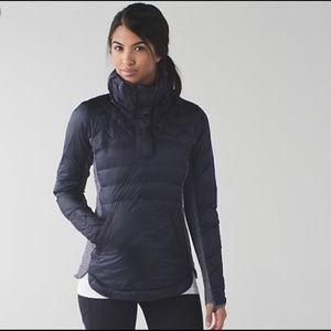 Lululemon Down for a Run jacket grape size 4
